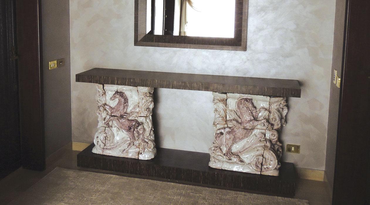 Scrivanie Ufficio Vicenza : Consolle e scrivanie martino pesavento il legno e il suo